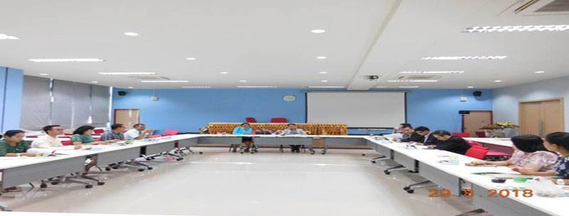 ประชุมคณะกรรมการดำเนินการขับเคลื่อนยุทธศาสตร์ตามพระราโชบายด้านการศึกษา ด้านนโยบายและแผนยุทธศาสตร์การพัฒนามหาวิทยาลัย ตามคำสั่งที่ 2389/2561